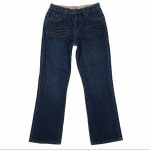 Tommy Hilfiger Men's Button Fly Moto Jeans  VGC